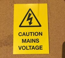 A6 A5 A4 WEH42 High Voltage Cables Plastic Sign OR Sticker
