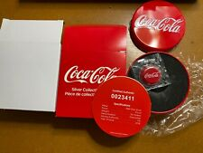 More details for 2018 fiji coca-cola bottle cap shaped 6g $1 one dollar silver proof coin