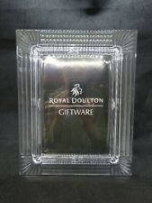 More details for bnib royal doulton crystal frame giftware