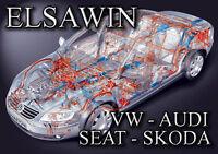 VAG ELSAWIN v3.70 combinable Volkswagen Audi Seat Skoda