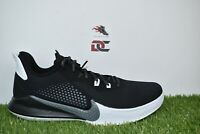 NEW NIKE MAMBA FURY KOBE MEN'S BLACK/SMOKE GREY-SHITE SIZE 11 CK2087-001
