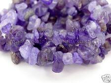 Natural Amethyst Gemstone 5-8mm Chip Beads 35'' For Bracelet or Necklace Making