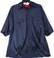 Redsand Mens Navy Blue with Red Trim Polo Short Sleeve Shirt  XL