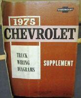 CHEVROLET 1975 Truck Wiring Diagram 75 Chevy Pick Up   eBayeBay