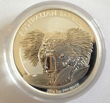 2014 Australian Koala 1 oz .999 Silver Bullion Coin