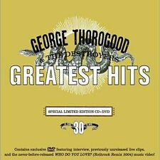 Greatest Hits:30 Years Of Rock [CD/DVD Combo], George Thorogood, Good Limited Ed