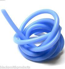 S10010b Bleu Clair Silicone rc nitro glow fuel line tube pipe 1 Mètre 5mm x 2mm