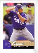 2007 Fleer KANSAS CITY ROYALS Team Set (15) ALEX GORDON Rookie / MIKE SWEENEY +