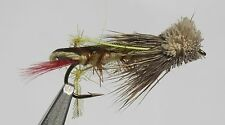 Daves Hopper Assortment; 1 Dozen Trout Fishing Flies