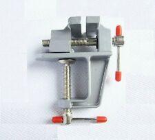 Gjjc06 Mini Aluminium Alloy Clamp On Bench Jewellers Hobby Craft Vice Tool New
