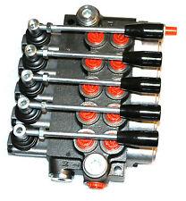 Hydraulik Handsteuerventil  5-fach 50 L / für doppelwirkende zylinder