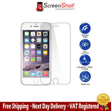 2 Pack - 100% GENUINE TEMPERED GLASS FILM SCREEN PROTECTOR FOR APPLE IPHONE 6/6S