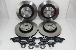Original Brake Discs + Brake Pads Front+Rear Ford S-MAX/Galaxy 59998800
