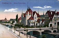 2575/ Foto AK, Straßburg, Höhere Töchterschule, 1918