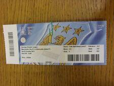 Billete De 03/10/2015: Manchester City v Newcastle United. gracias por ver este