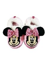 ⭐️Disney•Minnie Mouse•Adorable Soft•Warm•Cozy•Sparkly Slippers•SZ 11//12•NEW❣️⭐️