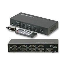 Vss0404 + Us Psu Vga Video Stereo Audio 4x4 Matrix Switcher Integrated Systems