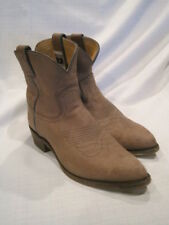 Frye 77814 Billy Leather Ankle Cowboy Boots Women's 10B