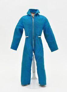 Vintage 1970's GI Joe Adventure Team blue jumpsuit