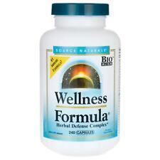 Source Naturals Wellness Formula 240 capsules