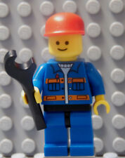 LEGO Town City Construction Worker with Tool Oil Field...