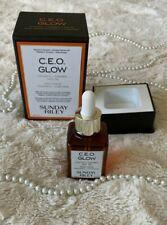 NIB *FRESH* Sunday Riley CEO Glow Vitamin C Turmeric Face Oil 1.18 fl oz/ 35 mL