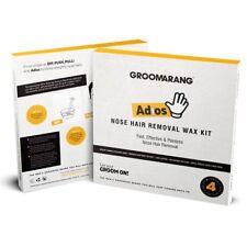 Groomarang - Adios Nose Hair Removal Wax Kit Nasal & Ear Hairs