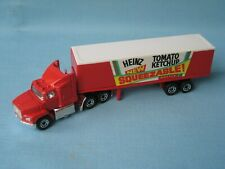 Matchbox Convoy Ford Box Truck Heinz Tomato Ketchup Boxed Toy Model Truck