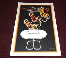 "Barbra Streisand Rare ""What's Up Doc"" Cuba Movie Poster"