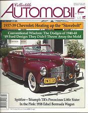 Collectible Automobile Magazine April 2001 Vol 17 - No 6