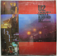 U2 Under A Blood Red Sky 1983 MEXICO LP Different Cover SHRINK! Bono MINTY! Edge