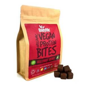 BodyMe Organic Vegan Protein Bites   Raw Beetroot Berry   500g   100 Bites