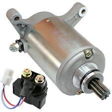 Starter & Relay Solenoid for Yamaha Warrior 350 Yfm350 1987-2004 Atv