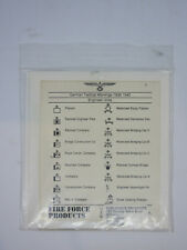 1/72 German Tactical Markins 1939-40 ENGINEER INITS DECAL - FIRE FORCE #1