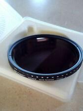 77mm Variable Neutral Density Nd8-Nd2000 Nd Filter for Camera Lenses