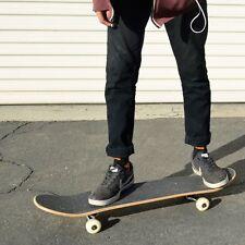 "Punked Rasta Lion Graphic Complete Skateboard 7.75"" Cruiser skateboards"