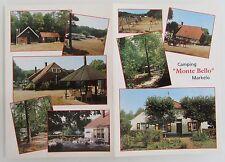 Reklame Werbekarte Camping MONTE BELLO Hof Van Twente ST MARKELO Niederlande