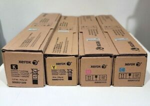 Genuine New Set of 4 Xerox Toners 006R01509 KCYM 7525 7535 7830 7835 7845 C8030