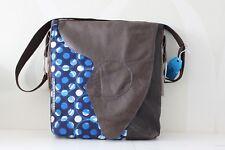 Big Denim Bag with pieces of Leather VanStoel#170