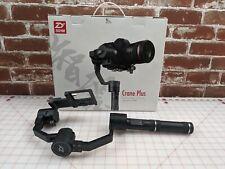 ZHIYUN-Tech Crane Plus Professional 3-AXIS Gimbal for Mirrorless & DSLR Cameras