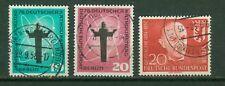 Berlin Jahrgang 1958 , gestempelt ,  Auswahl aus Michel Nr. 179  - 181
