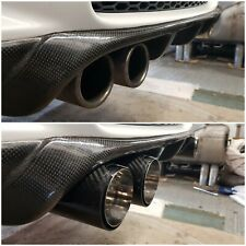 BMW E92/93 ///M3 Gloss Carbon MPE (Style) EXTENDED / DIFFUSER Exhaust Tips