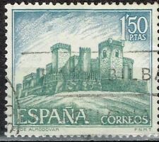 Spain Famous Architecture Moorish Fortress Almodovar stamp 1967