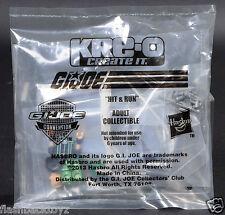 2013 GI Joe Convention Night Force Hit & Run Parachute Kreo Kre-O Kreon JoeCon