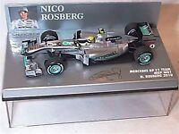 Mercedes GP F1 Team  MGP W01 N.Rosberg 2010 New in Case