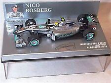 Mercedes GP F1 Team Mgp W01 N. Rosberg 2010 New In Case