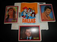 1981 Donruss DALLAS TV series (45) different plus (5) wax wrappers