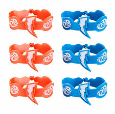 Power Rangers Ninja Steel Rubber Bracelet Wristband Birthday Party Supplies ~6ct
