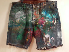 AUTHENTICS SIGNATURE LEVI SHORTS PAINTED ONLY 1 PAIR ORIGINALS MEN'S SIZE 38