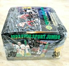 1993 CLASSIC FOUR SPORT COLLECTION JUMBO BOX. Rare!